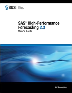 SAS® High-Performance Forecasting 2.3: User's Guide