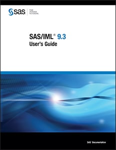 SAS/IML® 9.3 User's Guide