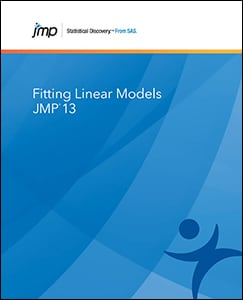JMP® 13 Fitting Linear Models