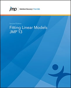 JMP® 13 Fitting Linear Models, Second Edition