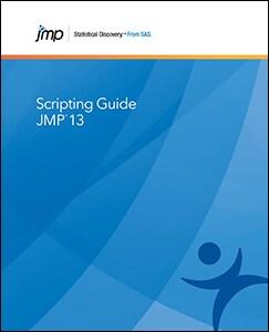 JMP® 13 Scripting Guide