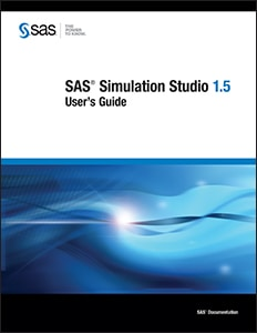 SAS® Simulation Studio 1.5: User's Guide