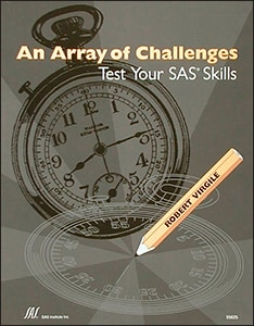 An Array of Challenges--Test Your SAS® Skills