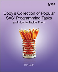 Cody's Collection of Popular SAS® Programming Tasks and How to Tackle Them