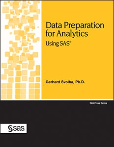 Data Preparation for Analytics Using SAS®