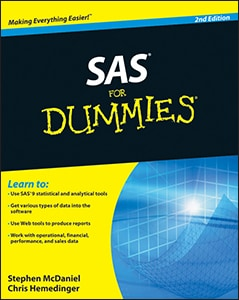 SAS® For Dummies®, Second Edition