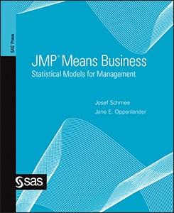 JMP® Means Business: Statistical Models for Management