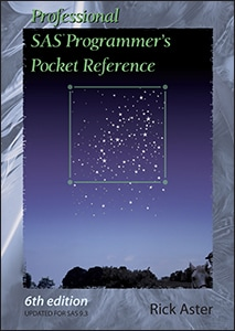 Professional SAS® Programmer's Pocket Reference, Sixth Edition