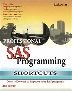 Professional SAS® Programming Shortcuts, Third Edition
