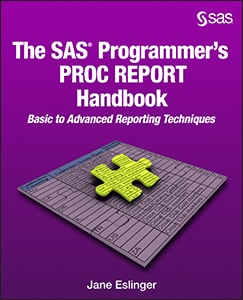 The SAS® Programmer's PROC REPORT Handbook: Basic to Advanced Reporting Techniques