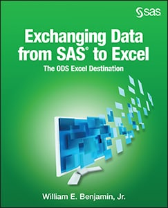 Exchanging Data From SAS® to Excel: The ODS Excel Destination