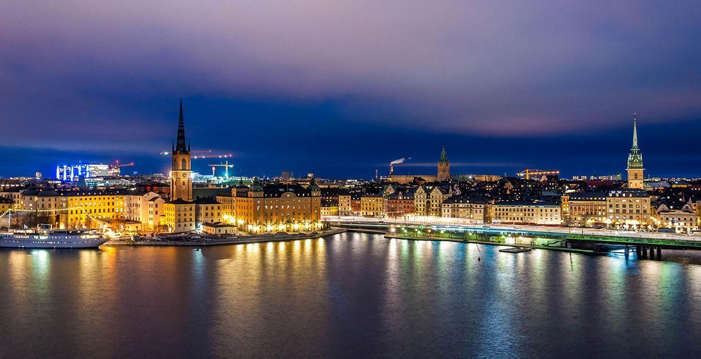 Stockholm City Skyline