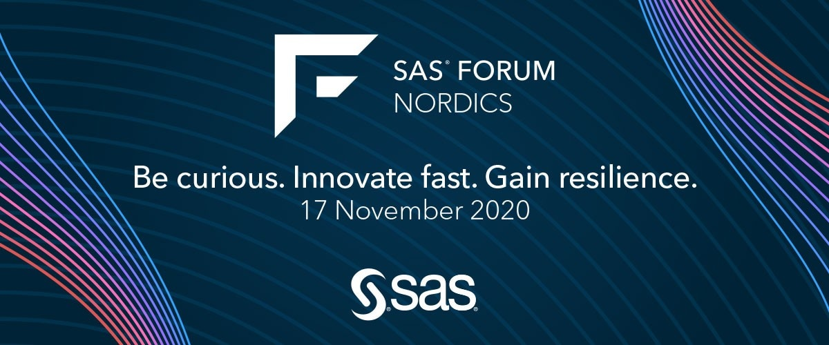 SAS Forum 2020 | Stockholm | Virtual