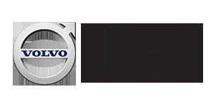 Volvo & Mac Brand logos together