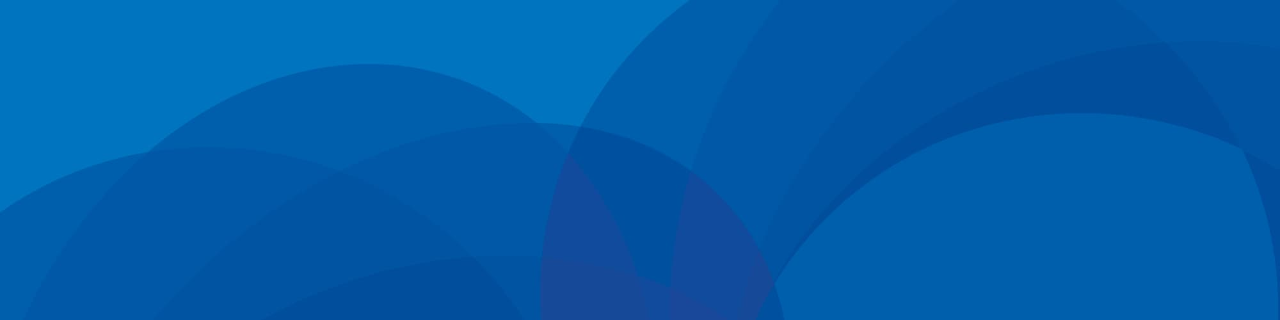 Cobalt blue background with spirograph art