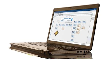 SAS Marketing Automation shown on laptop