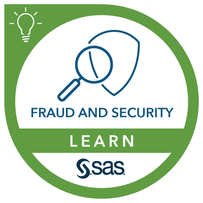 SAS Learn Badge for Fraud and Security