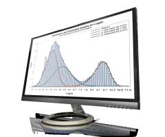 SAS/STAT ที่แสดงผลบนจอภาพของคอมพิวเตอร์เดสก์ทอป