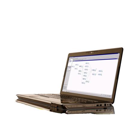 สกรีนช็อตสำหรับระบบ Hadoop and Big Data Solutions แสดงบนแล็ปท็อป