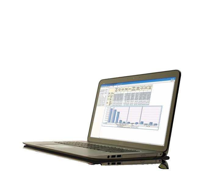 SAS Risk Managent for Banking แสดงอยู่บนแล็ปท็อป