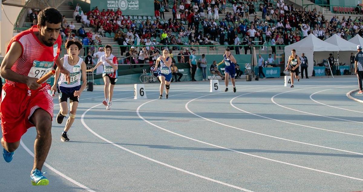Special Olympics Relay Race