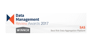 Data Management Review Award 2017 – Best Risk Data Aggretation Platform