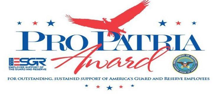 Pro Patria Award logo