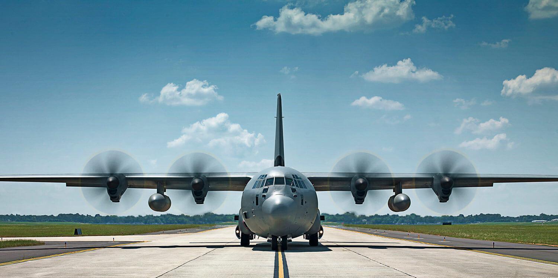 Lockheed Martin C-130 Hercules aircraft