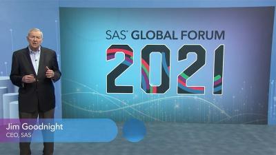SAS 全球论坛:2021 年 SAS 全球论坛的特色会议,Jim Goodnight
