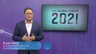 SAS 全球论坛:5 个关键技术愿景,Bryan Harris