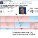 Screenshot: Offender Detail Screen - SAS Criminal Justice Data Integration and Analytics