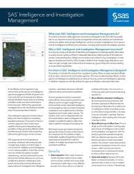 SAS® Intelligence and Investigation Management