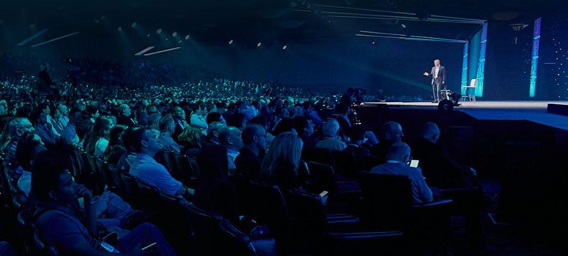 SAS Global Forum crowd with presenter