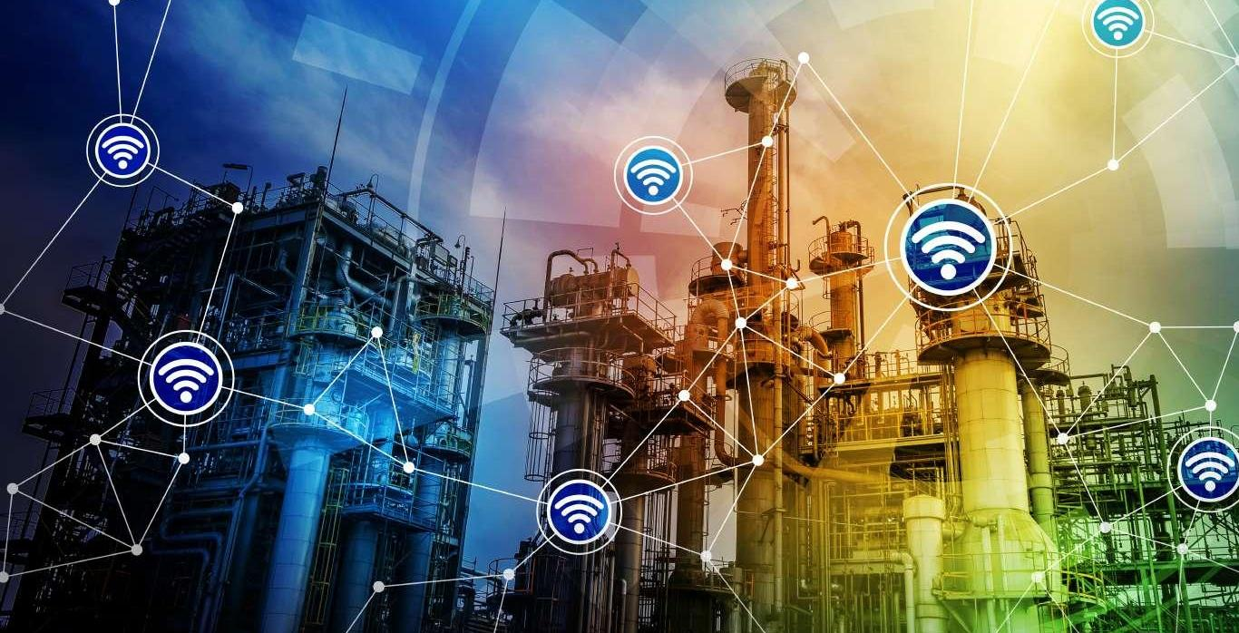 Modern Factory Building and Wireless Communication