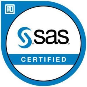 SAS Certified certification badge