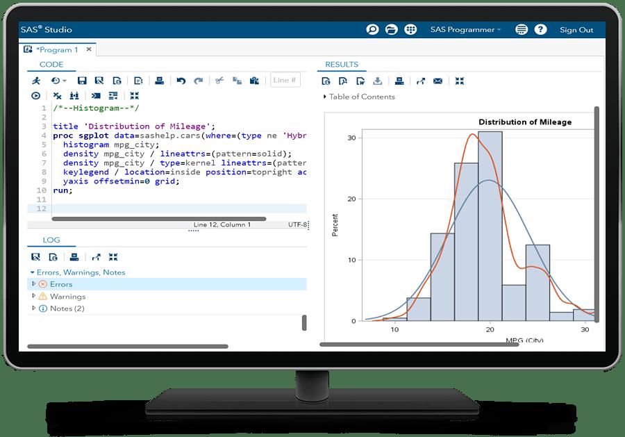 SAS® Analytics Pro - base graphics