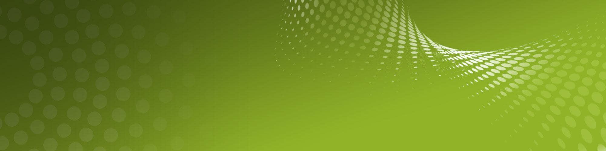 Lime green banner