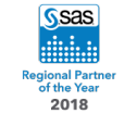 SAS 2018 Regional Partner of the Year badge