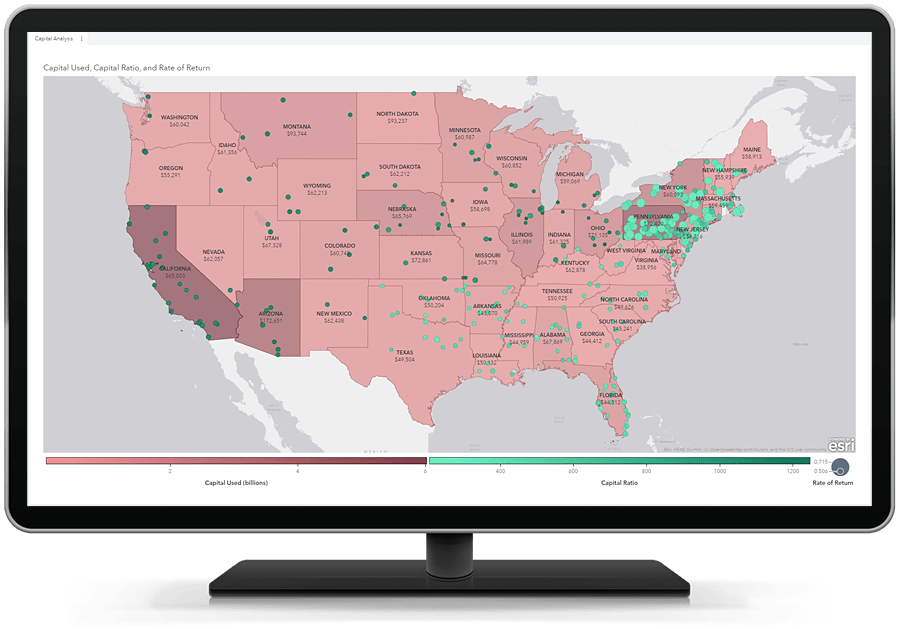 SAS Visual Analytics - Geographic Region Labels and Values