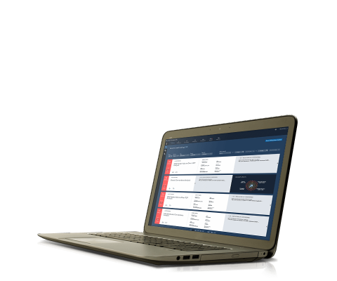 SAS Cybersecurity shown on laptop computer